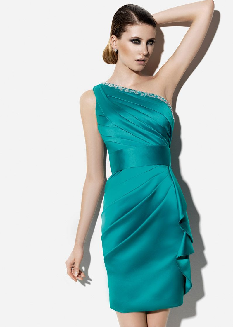 Vestido turquesa | Dress | Pinterest | Vestido turquesa, Turquesa y ...
