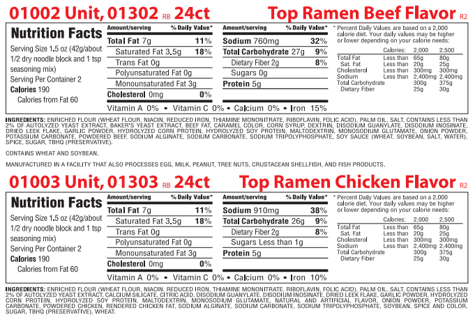 What S Really In The Popular Instant Ramen Noodles Ramen Noodles Noodles Ramen Noodles Nutrition