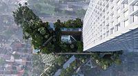 MVRDV's Ravel Plaza will be part village green, part verdant cliffside