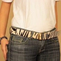 Fur Belt Zebra B