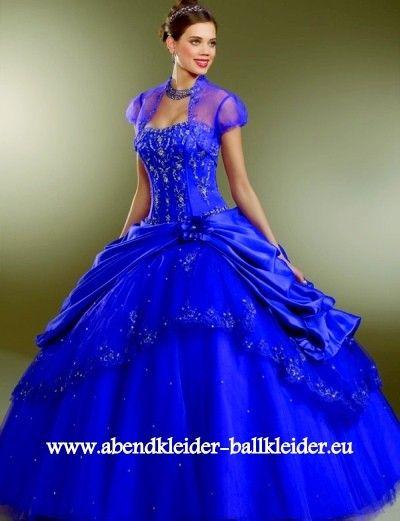 Elegantes Ballkleid Brautkleid in Dunkel Blau | Ballkleider 2018 ...