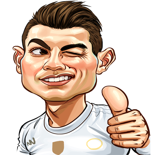CR7 stickers for whatsapp amazing stikcres and meme stickers