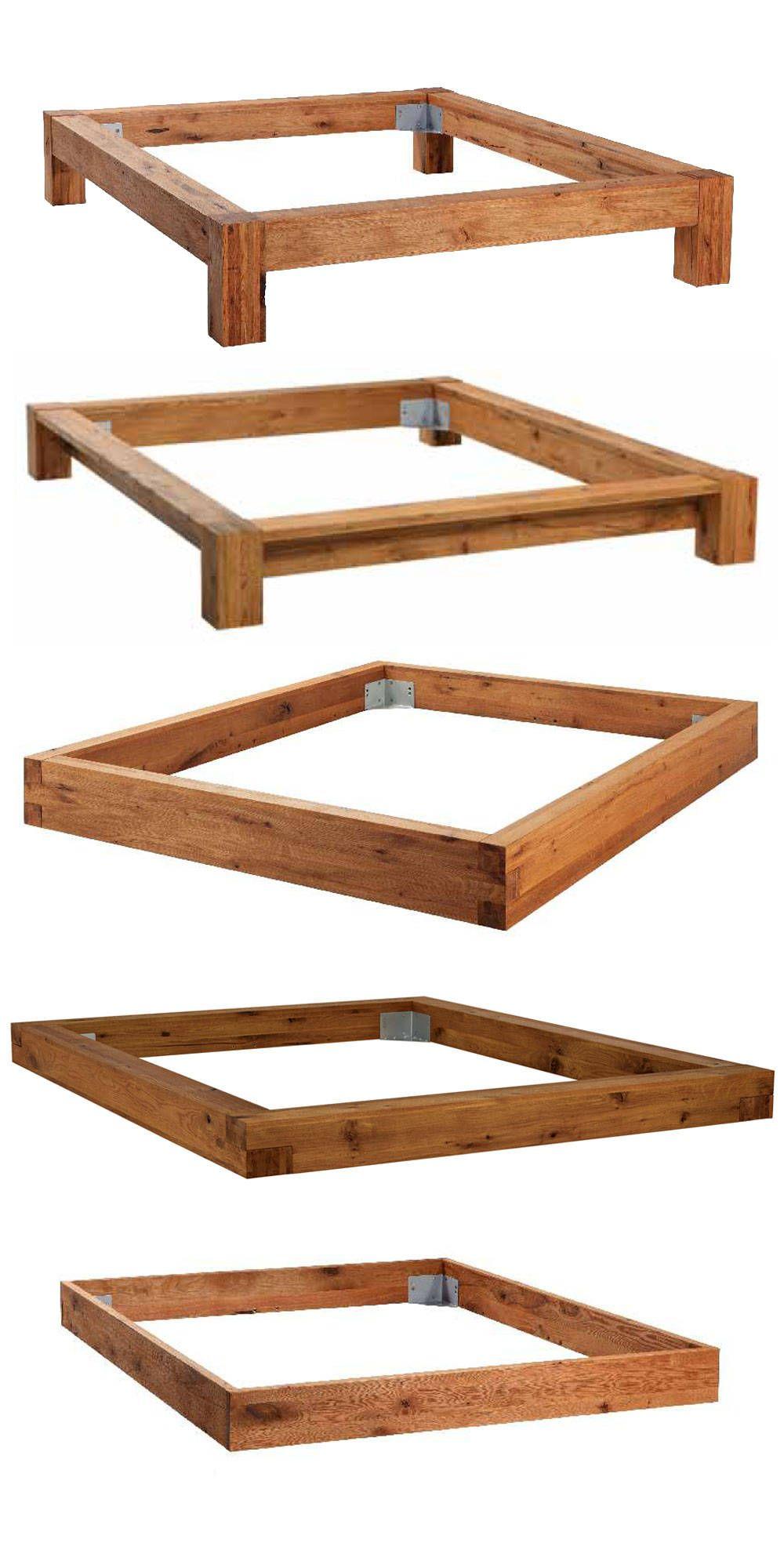 verschiedene Bettrahmen - Oak-Wild Bett | furniture | Pinterest ...