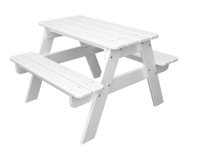Inspirational White Picnic Bench