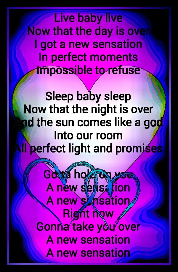 New Sensation Inxs Lyric Pic Design Nancy Gatto Eighties