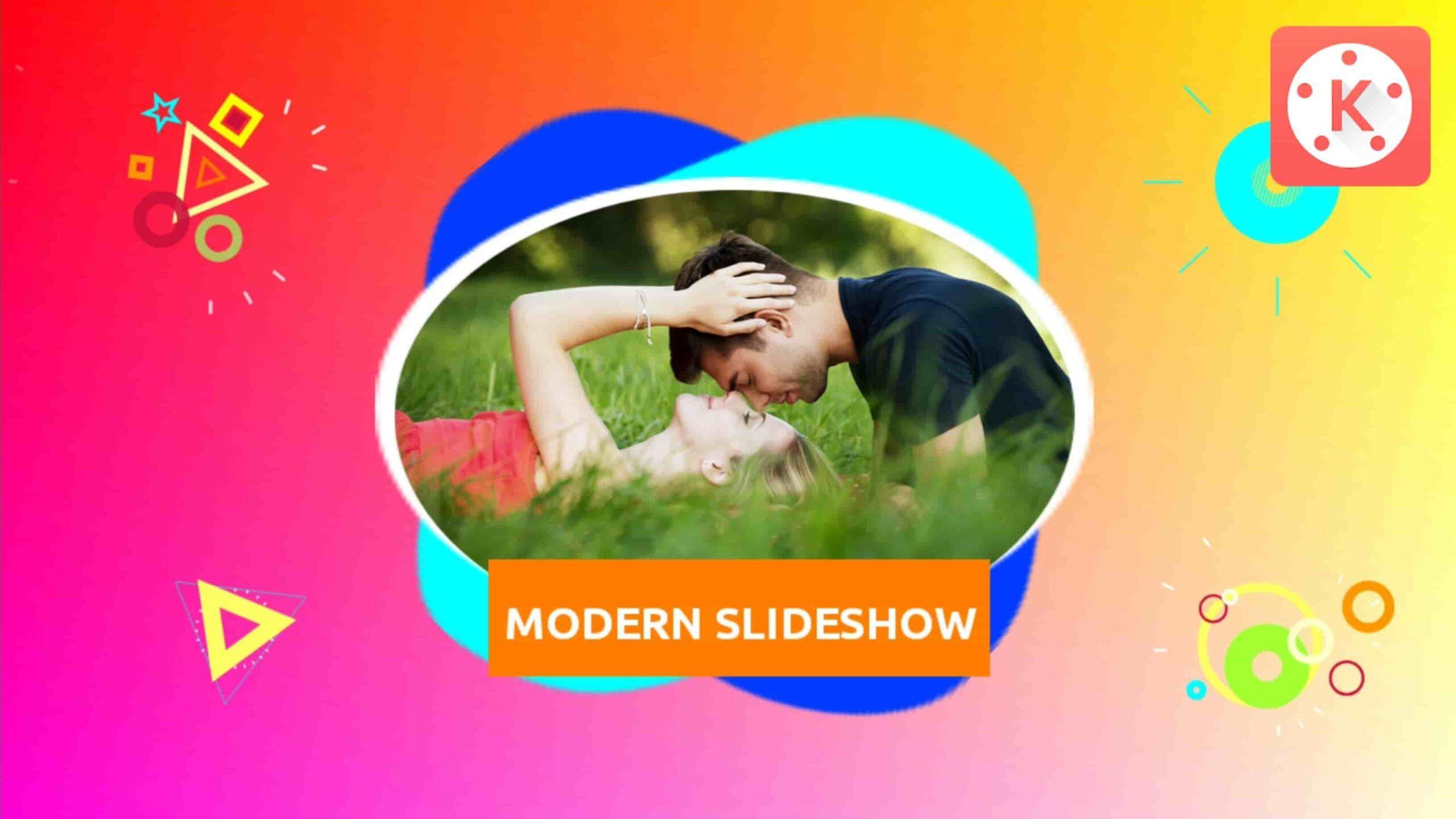 Free Photo Slideshow Template In Kinemaster 2020 Photo Slideshow Free Photos Text Animation