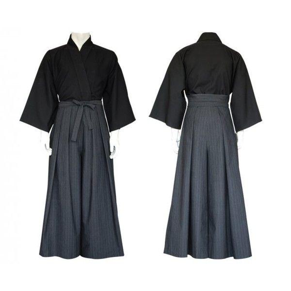 kendo ❤ liked on Polyvore featuring dresses, kimono and ninja