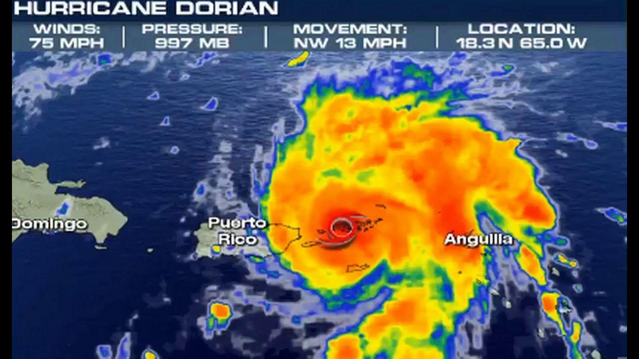 Dorian Becomes Level One Hurricane At It Zeros In On Florida Youtube One Hurricane Hurricane Underground World