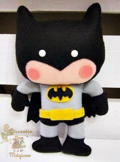 Batman em feltro!  ed4d37248a9