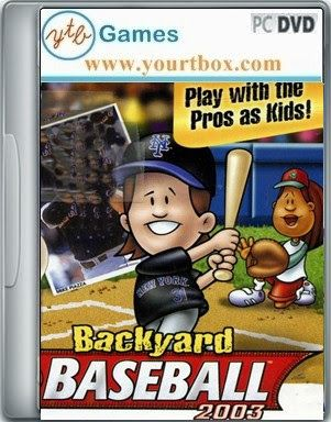 Backyard Baseball 2003 Game   FREE DOWNLOAD   Free Full Version PC Games  And Softwares Juegos