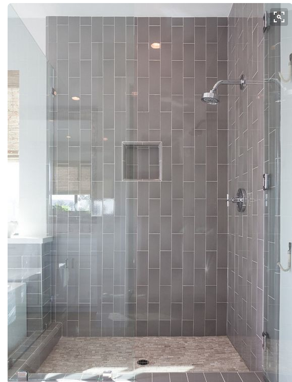 My Notting Hill Vertical Subway Tile Installation Gl Shower Showers