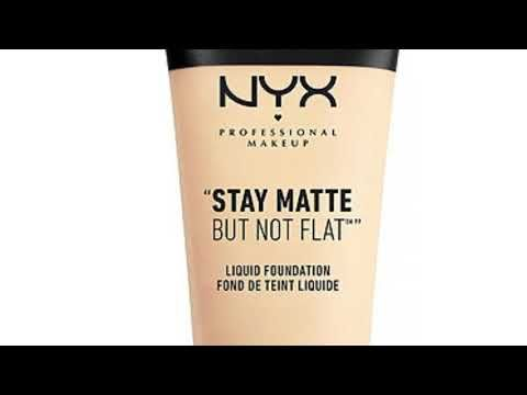 ريفيو كريم أساس Nyx Stay Matt But Not Flat و Fit Meمن ميبيلين Youtube Coffee Bag Drinks