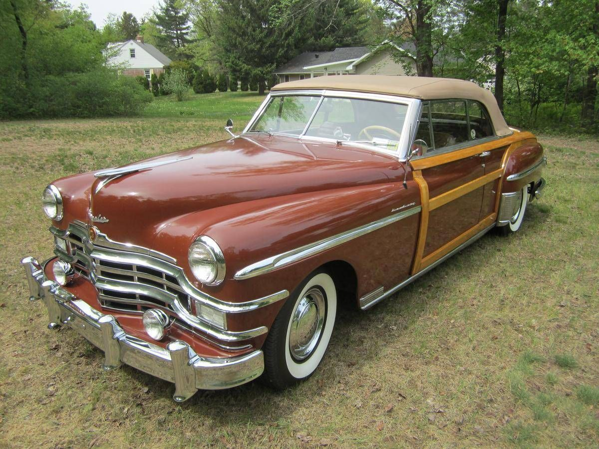 Hemmings Find of the Day – 1949 Chrysler Town & | Convertible ...