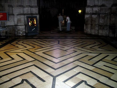 labyrinth in Ely Cathedral