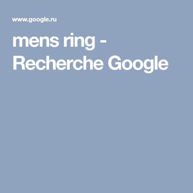 mens ring - Recherche Google