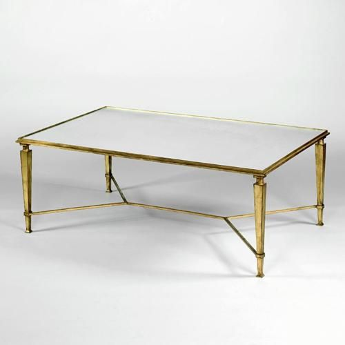 Attractive Vaughan Designs | Gilded Coffee Table