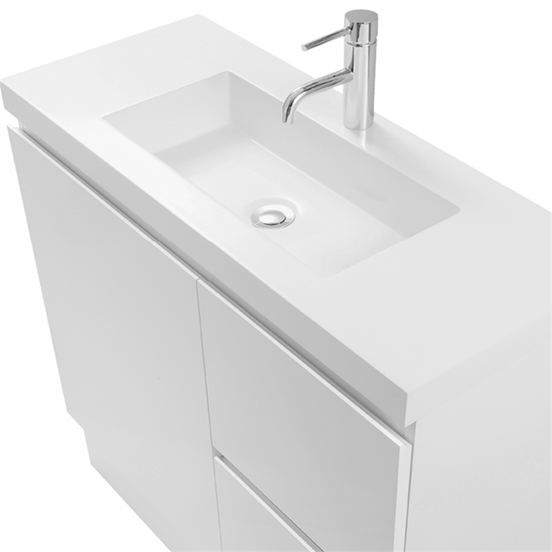 Find Cibo Design 750mm White Function Slimline Vanity At Bunnings Warehouse Visit Your Local For The Widest Range Of Bathroom Plumbing Products