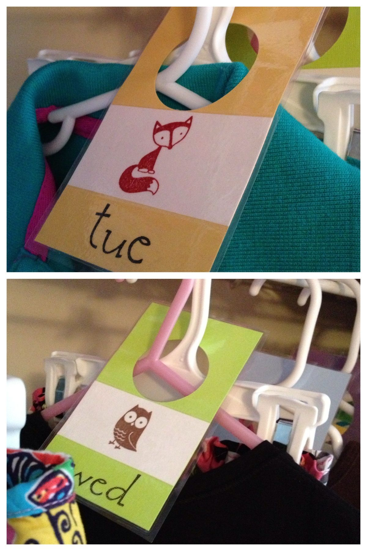 Weekly Clothes Tags For Kids This Totally Eliminated
