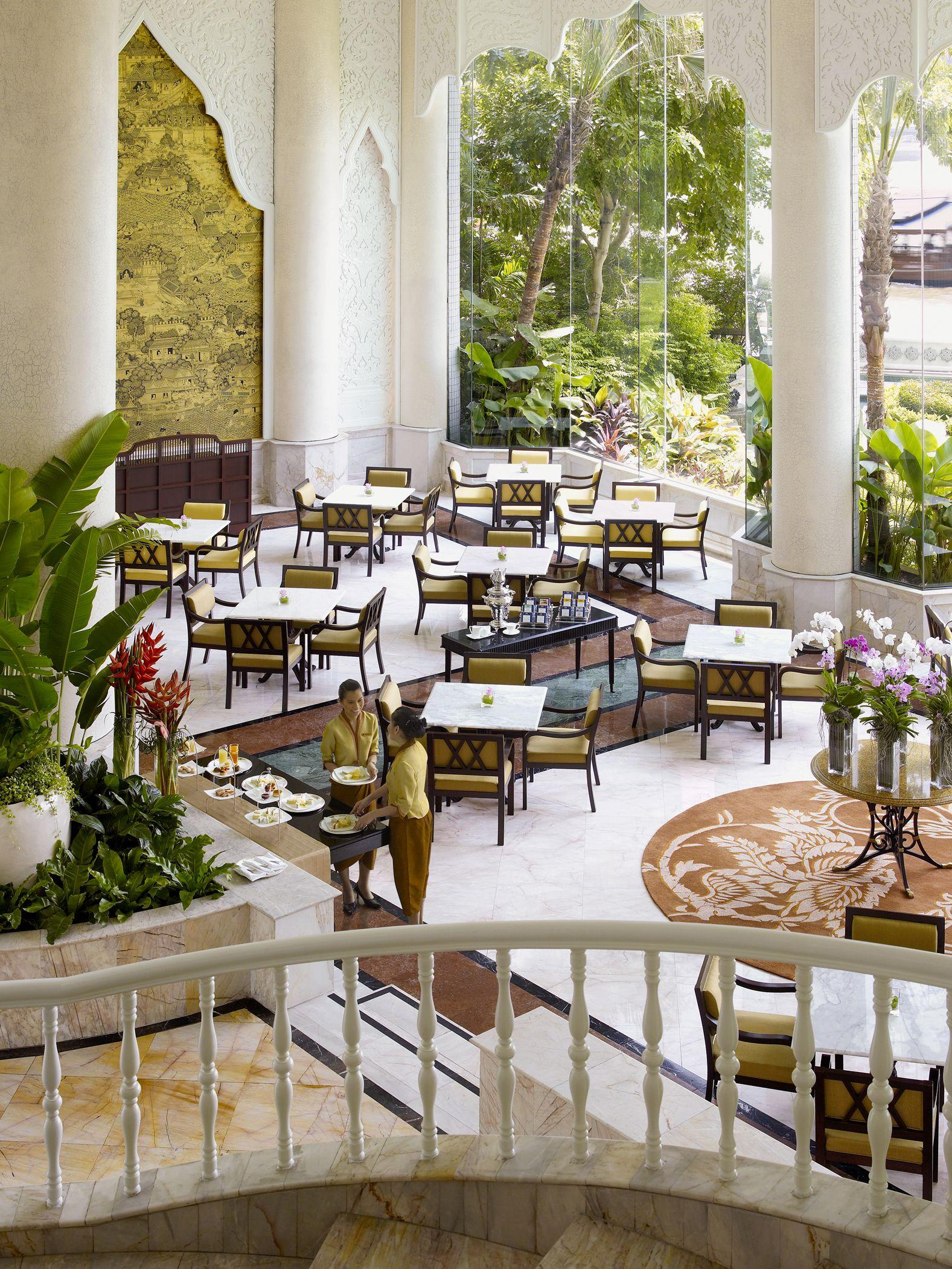 Shangri la hotel bangkok krungthep wing riverside lounge
