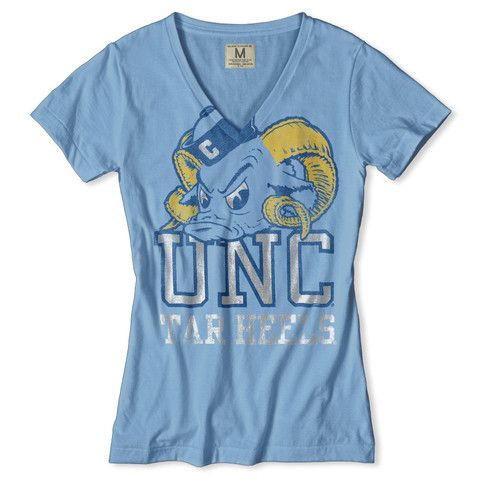 UNC Tar Heels V-Neck Women's T-Shirt by Tailgate Clothing