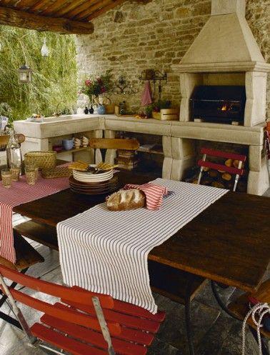 15 idées pour aménager une cuisine d\u0027été à l\u0027extérieur Barbecues - Cuisine D Ete Exterieure