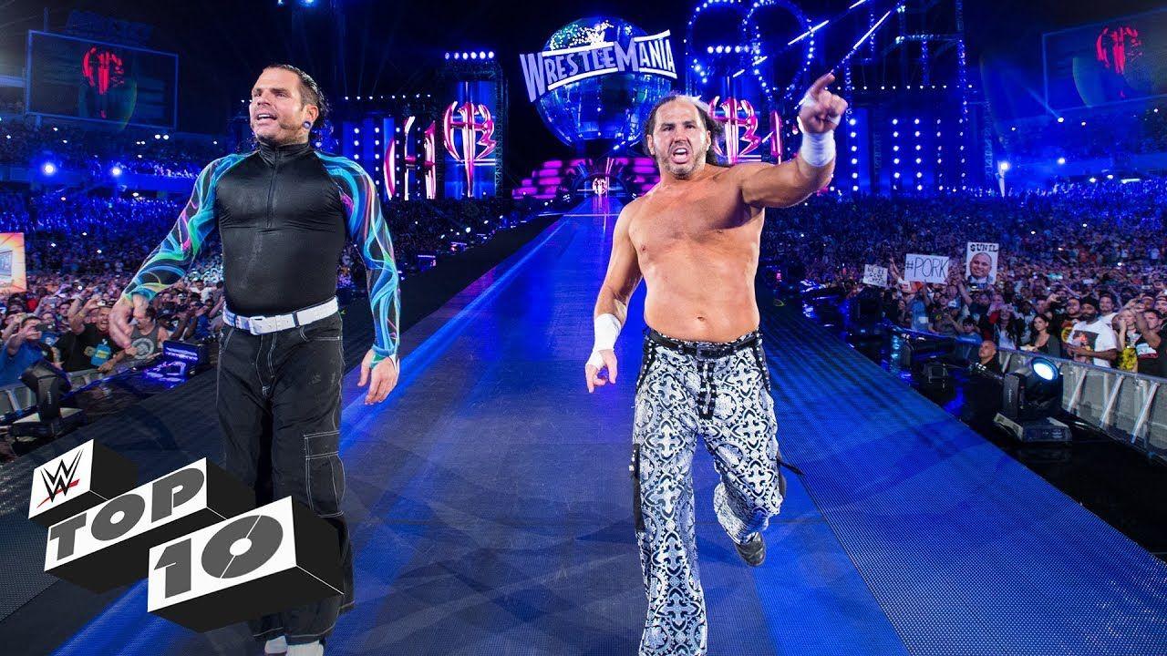 WrestleMania's memorable returns WWE Top 10, March 24