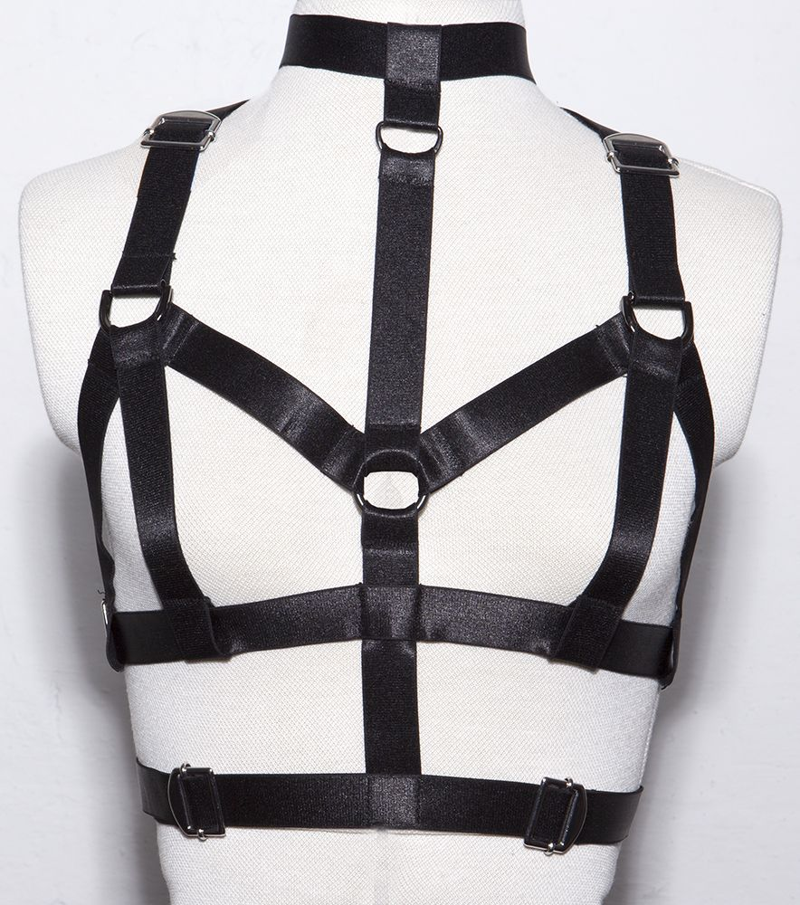 Collar Harness by Teale Coco. Want to figure out how to make all the body harnesses I want on my own...