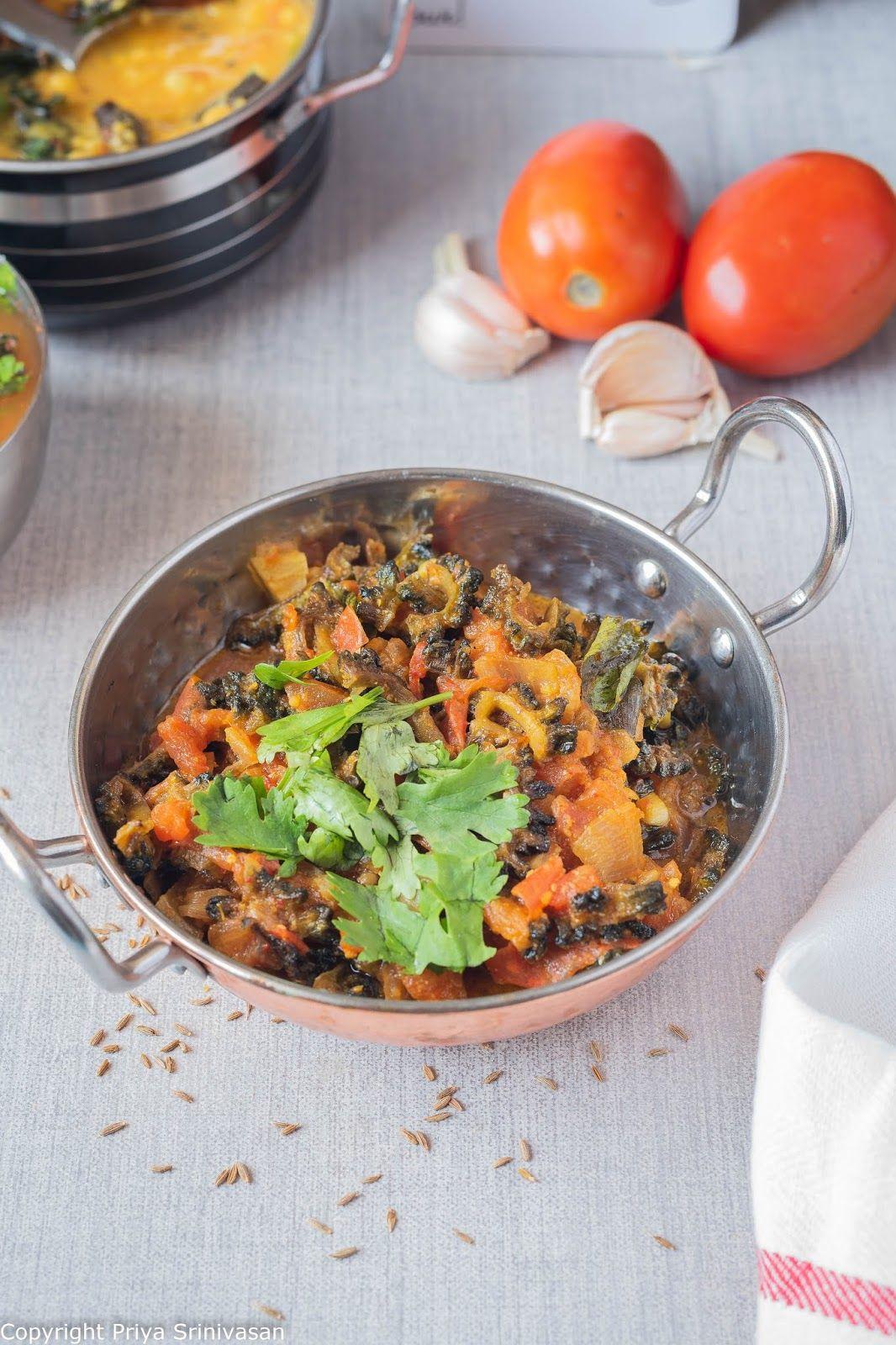 Bittergourd masala bittergourd curry recipe in 2020