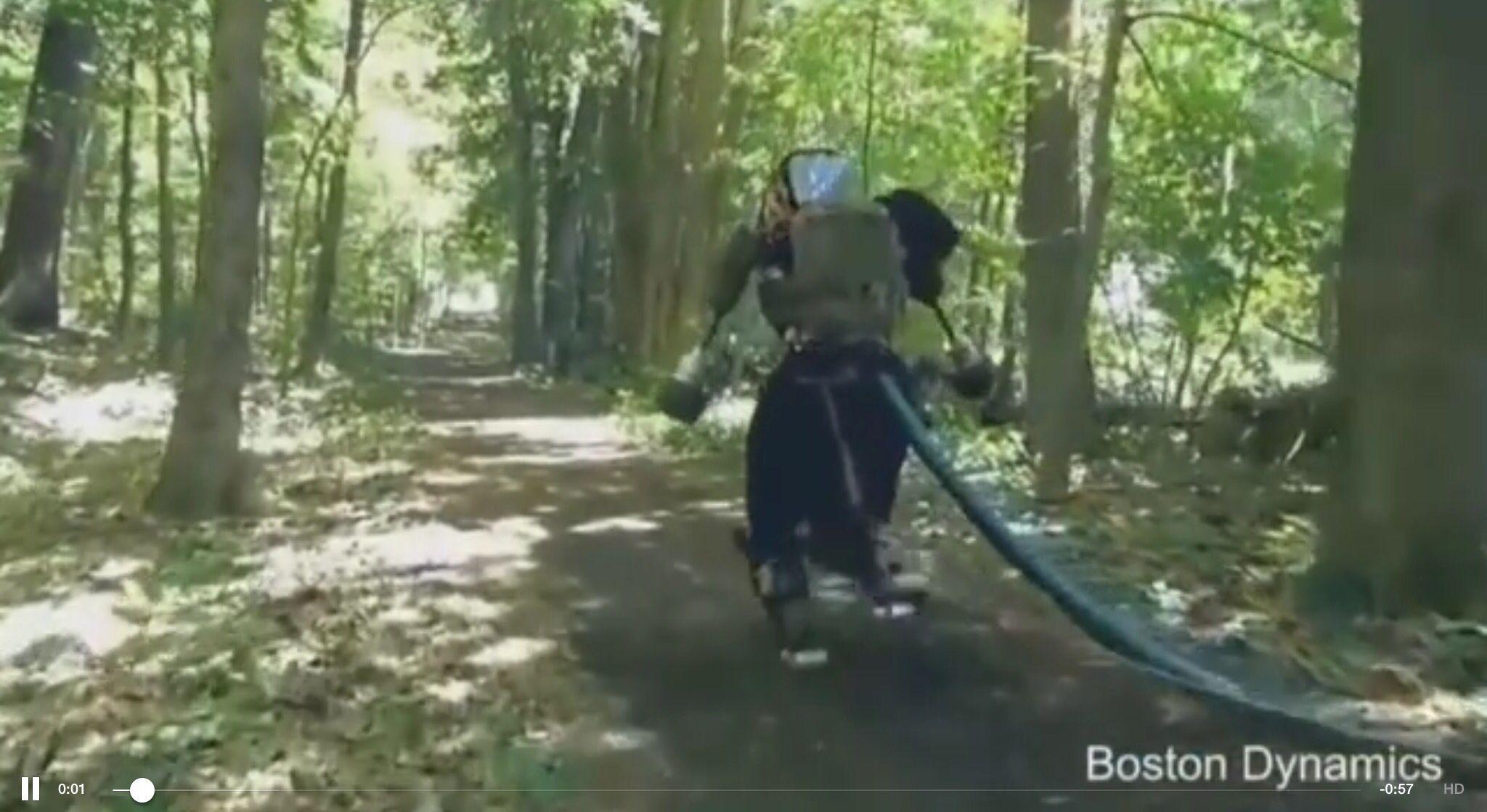 Google's walking robot by Boston Ddynamics