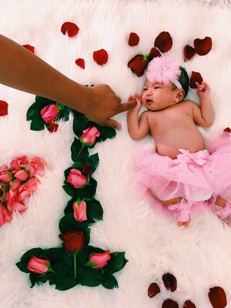 1st Month Baby Photoshoot : month, photoshoot, Newborn, Month, ⚘❤❤❤, Photoshoot, Girl,, Pictures,, Photography