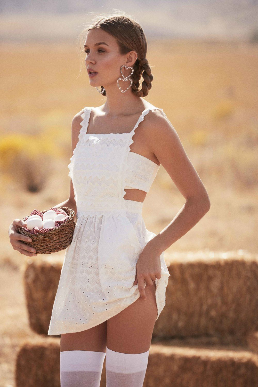 20b6d2a0d7d3f Summer 2018 Ready-To-Wear – For Love & Lemons | Charlotte Eyelet