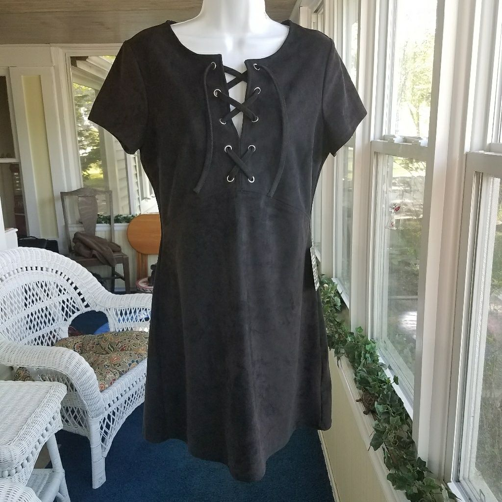 Express tie front dress products