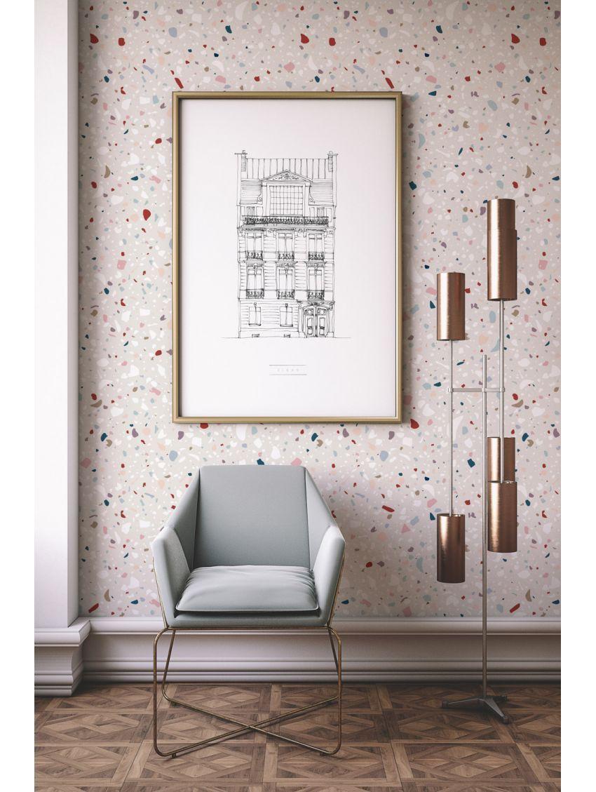 Granite - rouleau 3ml | Papier peint, Décoration maison, Decoration