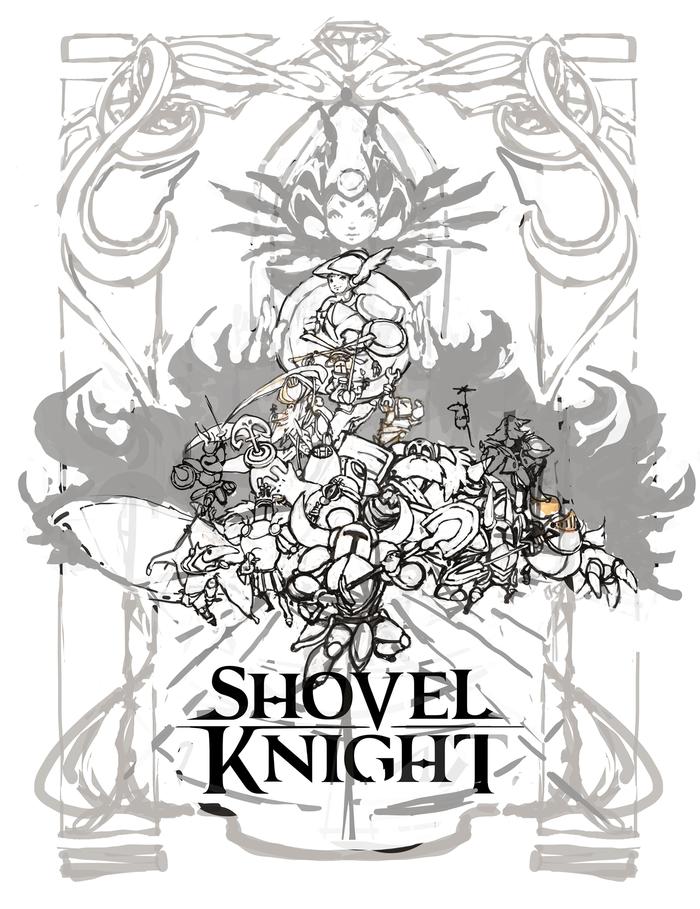 Shovel Knight Concept Poster