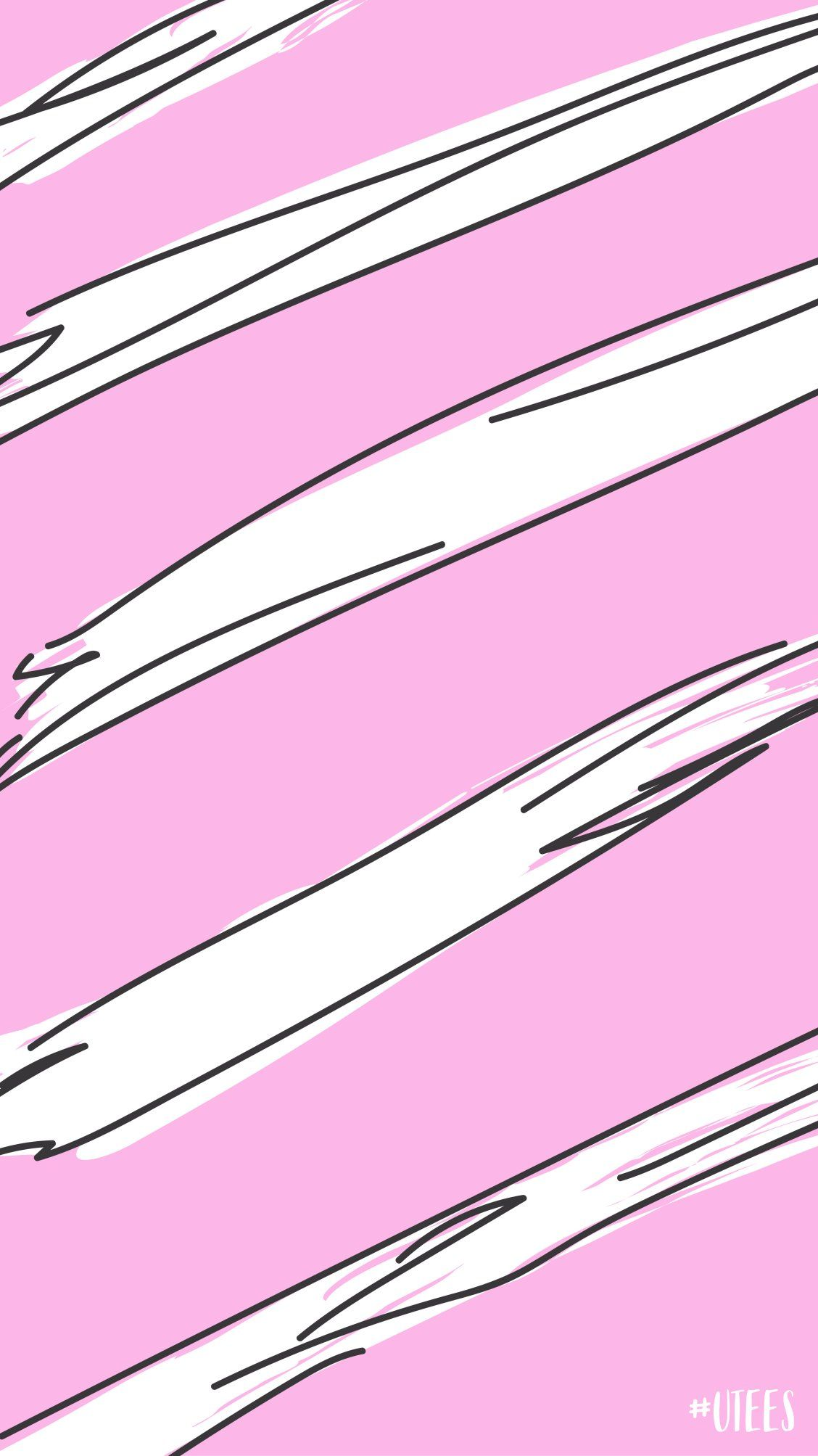 pink and white striped wallpaper screensaver background