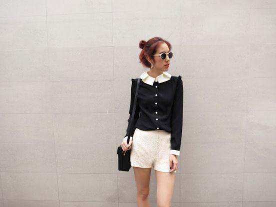 be3540f8028 Уличная мода Кореи  блоггеры   фото 2016