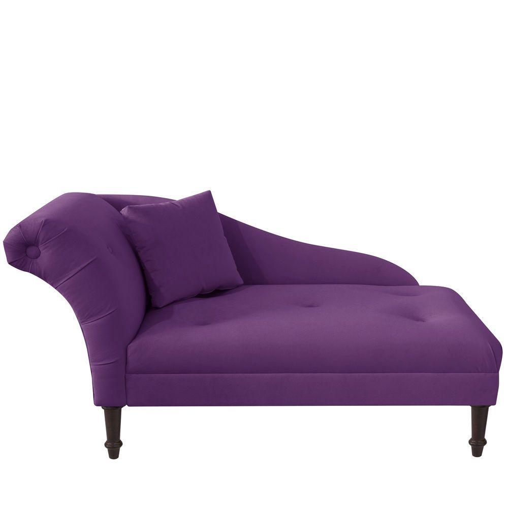 Chaise Lounge Sette Velvet French Style Sofa