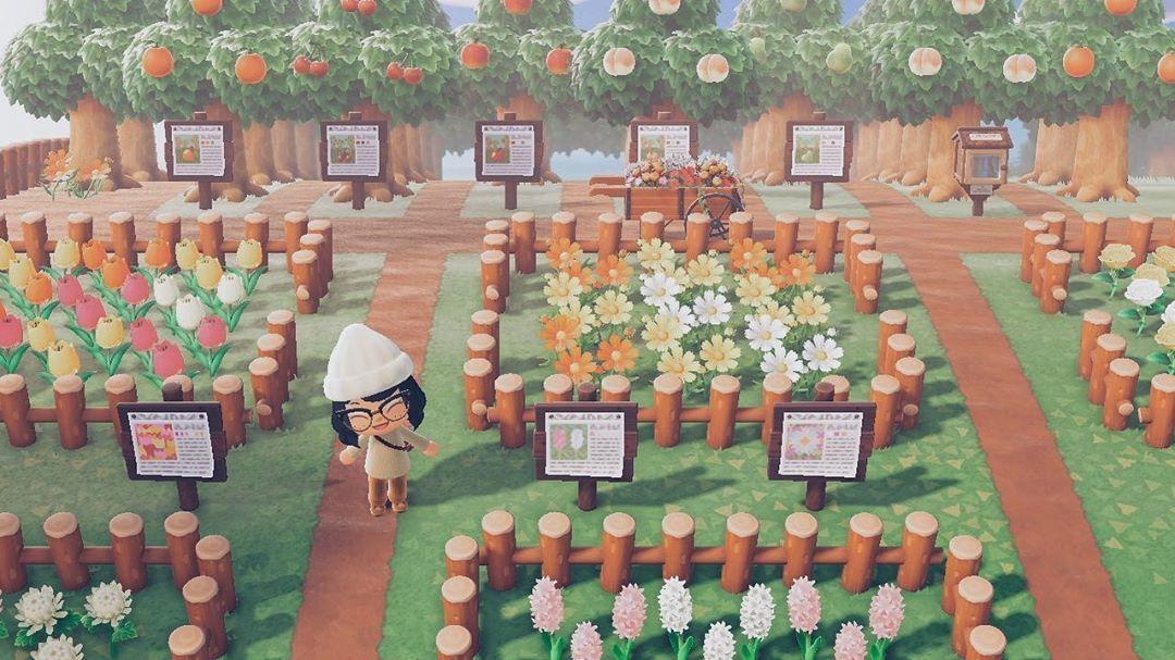 Acnh Flower Garden