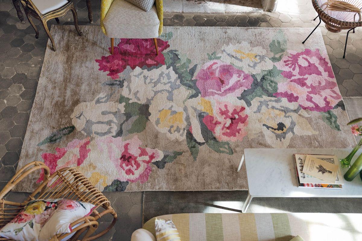 teppich shabby good touch with teppich shabby finest designer teppich wohnzimmer teppiche d. Black Bedroom Furniture Sets. Home Design Ideas
