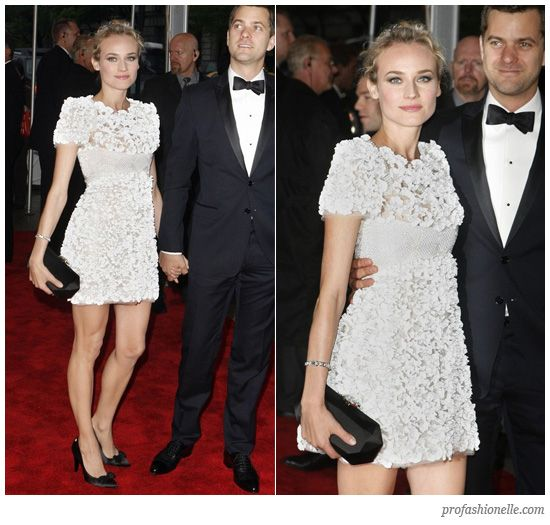 Diane Kruger looking flawless in Chanel