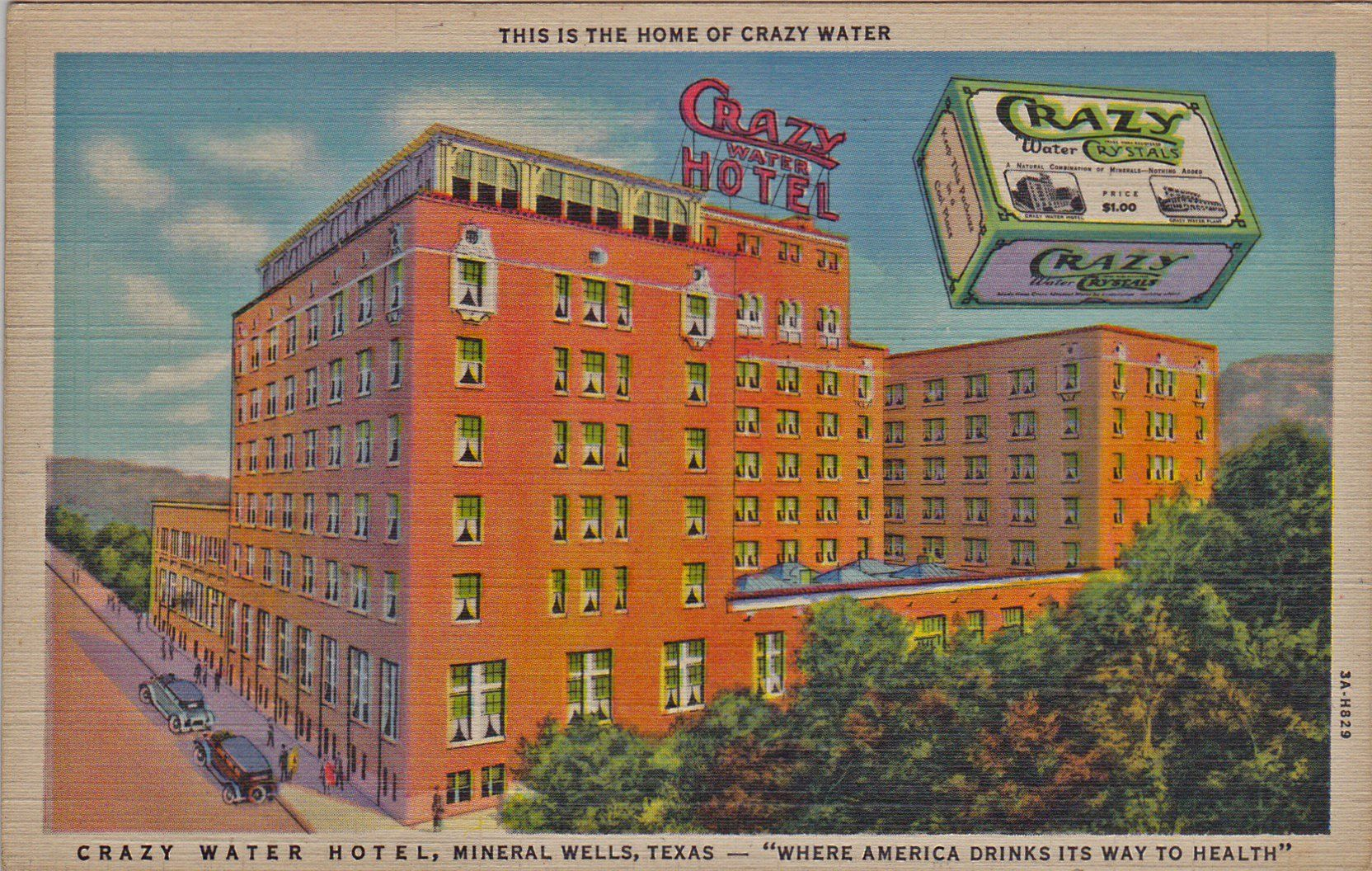 Mineral Wells - Home of Crazy Water | Old Time Blues