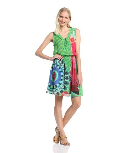 Amazon desigual kleid grun