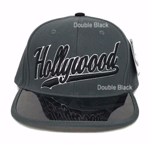 Hollywood-Snapback-California-Hat-Baseball-Cap -Transparent-Flat-Bill-Movie-Stars 28be0bf69438