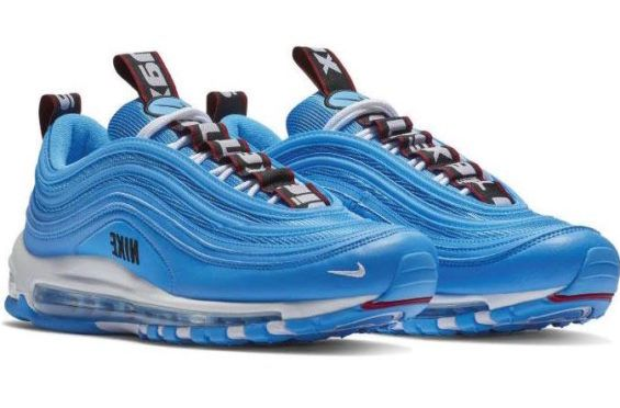 best service 4337c ee4b4 Official Look At The Nike Air Max 97 Premium Blue Hero The Nike Air Max 97