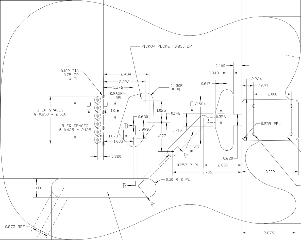 p bass body dimensions 1998 chevy silverado wiring diagram click this image to show the full size version music