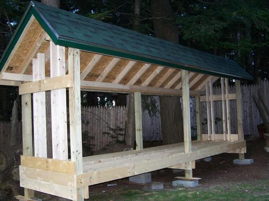 Charmant Quality Firewood Storage Shed Plans