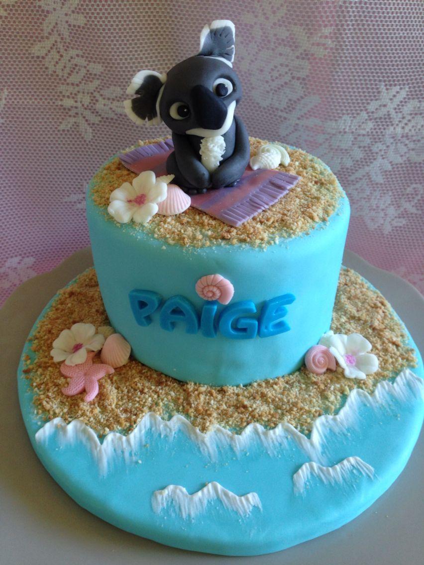 Happy Birthday Aussie Girl Cakesncookies Pinterest Beach
