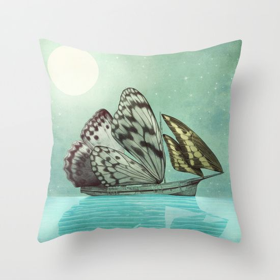 The Voyage  by Eric Fan #pillows #homedecor