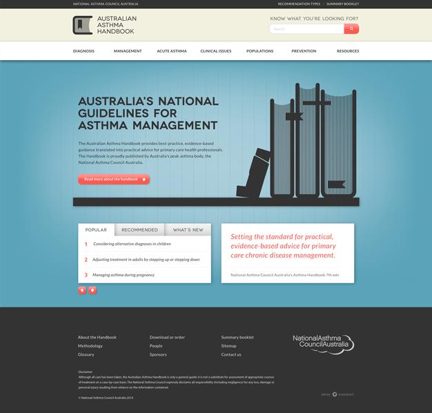 Australian Asthma Handbook National Asthma Council