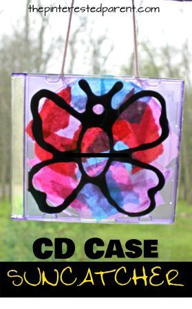 CD Case Artwork For Kids Pinterest Cd cases, Glue art and